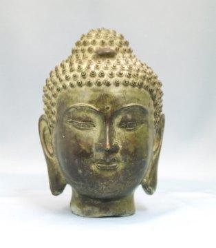 仏頭・釈迦如来 仏頭・釈迦如来 完売致しました インドネシア・バリ島で作られたのもだが... 仏