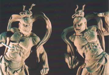 仁王像 上へ戻る |  仏壇・仏具店 渋谷の弥勒堂_仏像 仁王像